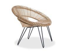 Rattan easy chair CRUZ LAZY CHAIR - Vincent Sheppard