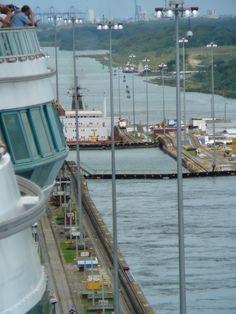 Panama Canal... Cruise in 2000 w grandma...new years eve