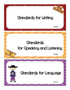 $4.00 Common Core I Can Statements Hollywood Movie ELA Grade 2