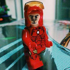 Lego Iron Man Mark 3 #lego #ironman