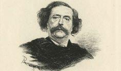 [Portrait de Jules Barbey d'Aurevilly]. / Rajon. XIXe siècle. Animation, Portrait, Art, 19th Century, Art Background, Headshot Photography, Kunst, Portrait Paintings, Animation Movies