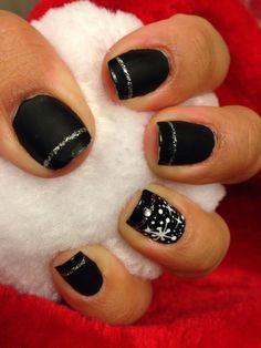 Black/ Christmas