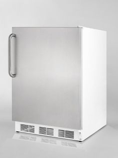 Summit FF67SSTBADA Commercially approved ADA compliant allrefrigerator for freestanding use with stainless steel door and towel bar handle * For more information, visit image link.