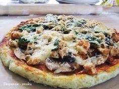pizza,szpinak,obiad,włoskie,