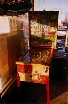 Untitled (Pinball Machine) by William Eggleston on artnet Auctions