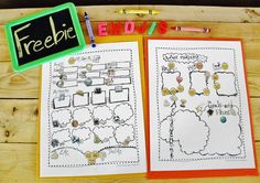 """This doodle """"All About Me"""" freebie is perfect for back to school. Emojis are very popular these days and students use them on a daily basis. Why not use them in the classroom as well? #backtoschool #freebie #TpT #emoji #allaboutme #worksheet"""