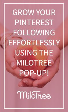 How do you get more followers on Pinterest? Use the MiloTree app! Seriously, this has doubled my followers in just 8 weeks.