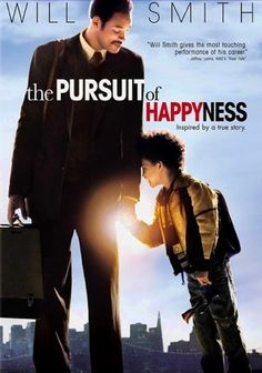 The Pursuit of Happyness (2006) about a struggling single parent who's determined to build a better life for his family. Chris Gardner (Smith) is smart and talented, but his dead-end salesman job barely pays the bills. When he and his son are evicted, they face trying times as a desperate Chris accepts an unpaid internship at a stock brokerage firm.