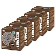 Lavazza A Modo Mio Tierra Intenso Pack of 5 5 x 16 Capsules *** Click on the image for additional details.