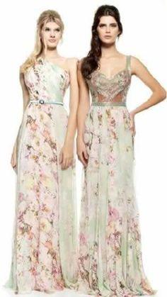 Vestidos de festa de casamento Bridesmaid Dresses, Prom Dresses, Formal Dresses, Long Dresses, Boho Wedding Dress, Wedding Dresses, Flower Skirt, Glamour, Dress Codes