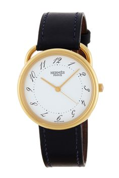 Hermes Arceau 18K Yellow Gold Watch