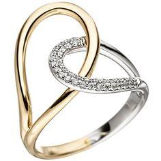 Dreambase Damen-Ring Gelbgold mit Weißgold kombiniert 14 ... https://www.amazon.de/dp/B01IWXFLR8/?m=A37R2BYHN7XPNV