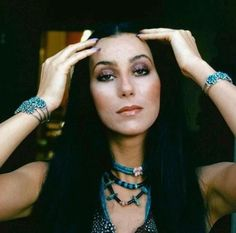 Vintage Cher / vintage turquoise #banditbabe