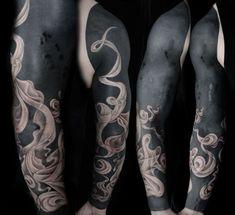 Stunning Black Tattoos Jonny Breeze Koikoikoi pertaining to The Most Amazing in addition to Interesting  Black Tattoo with regard to Body Tattoo