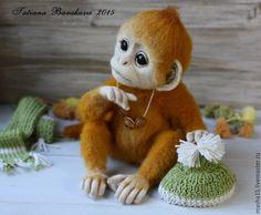 "Купить Обезьянка ""Белла"" - обезьянка, обезьяна, обезьянка игрушка, обезьянка в подарок, обезьяна игрушка"