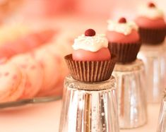 little cupcake: made like a cakepop but instead of on a stick it is in a mini cupcake wrapper.