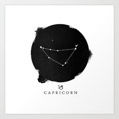 Buy Capricorn Art Print by Vanessa Williams. Worldwide shipping available at Society6.com. Just one of millions of high quality products available.