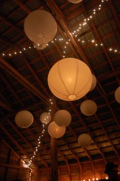 barn weddings | Barn Wedding lights and lanterns | Experiments and Accidents