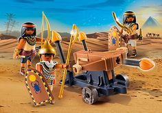 Ägypter mit Feuerballiste - 5388 - PLAYMOBIL® Deutschland