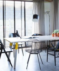 Meer dan 1000 idee n over tafel blad ontwerp op pinterest moderne eetkamerstoelen moderne - Tafel een italien kribbe ontwerp ...