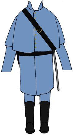 Union Cavalryman Great Coat