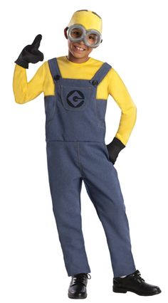 Let your inner Minion shine through! Help Gru save the day. Wear this officially licensed Despicable Me 2 Minion Dave Costume.