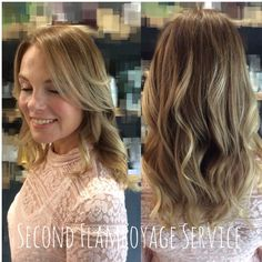 Here is Vanessa after her second Flamboyage colour today. Charlene has pulled through more colour, giving the client an even, yet ashy tone which still compliments the natural root. A stunning service by Charlene!  Are you looking to try flamboyage or balayage? Book online with Charlene or one of our other stylists @ www.sdhair.co.uk or call the salon on 01179 502 402 #sdhair #davines #flamboyage #balayage