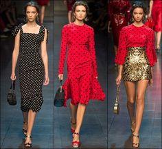 Dolce & Gabbana RTW Spring Summer 2014 Milan Fashion Week   gorgeautiful.com