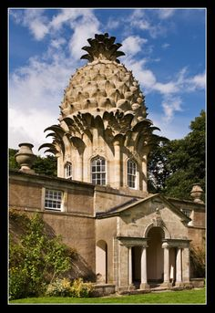 The Dunmore Pineapple, Scotland-  wonderfully ridiculous/ridiculously wonderful...