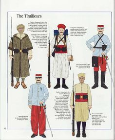 The Tirailleurs, French Army, 1914