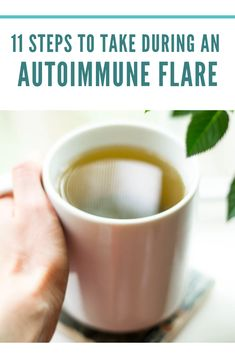 "If you have an autoimmune disease such as Hashimoto's or Graves' disease, you may sometimes experience what is called an autoimmune ""flare. Gut Health, Health And Wellbeing, Health And Nutrition, Chronic Illness, Chronic Pain, Fibromyalgia, Thyroid Disease, Autoimmune Disease, Eating Raw Vegetables"