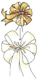 How to make bows for wreaths
