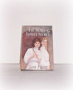Vintage BOOK The Heart's Lonely Secret (Orphan Train West, Book 1) Hardcover 1994 Jane Peart - pinned by pin4etsy.com
