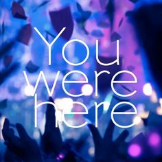 BUMP OF CHICKEN「You were here」ジャケット