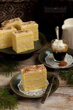 Sünis kanál: Vaníliakrémes szelet, avagy retró vaníliás Ráma szelet French Toast, Cheesecake, Pie, Breakfast, Food, Kuchen, Torte, Morning Coffee, Cake
