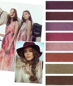 #Farbbberatung #Stilberatung #Farbenreich mit www.farben-reich.com color-trends-f-w-2016-17-all-markets-2womens: