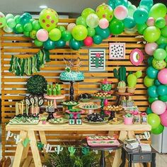 100 Pack Balloon Garland & Arch Kit for Cactus Party Latex Balloons, 16 Feets Arch Balloon Strip Tape, Balloon Tying Tool, Balloon Glue Dot for Fiesta Party Taco Party Mexico Party Party Fiesta, Taco Party, Party Snacks, Mexican Birthday, Mexican Party, Birthday Decorations, Birthday Party Themes, Diy Birthday, Birthday Party Ideas For Adults