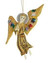 St. Bride Angel with Two Wings Christmas Decoration - FIGURE - Christmas Decorations