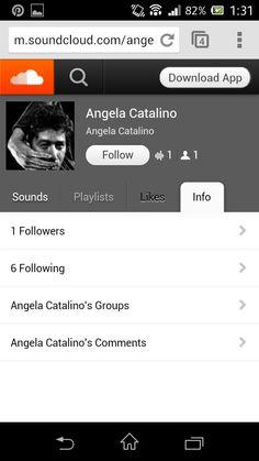 Il m'arrive de partager de la musique avec des amis via SoundCloud.