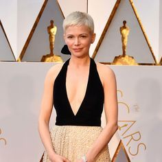 Michelle Williams's New Pixie Cut Takes a Cue From This Original Hollywood Red Carpet Star