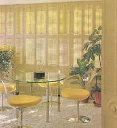Vintage Home Decor, Window Treatments, 1970s