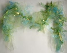 Mermaid Seaweed Boa. $48.00, via Etsy.Gumdropsandtruffles. I wonder if I can make this.