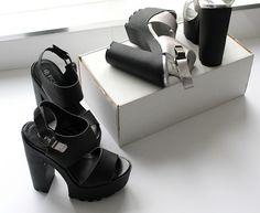 c4a9c13501 #MATALAN #platform #sandals #shoes #haul #fashion #accessories #flatlay