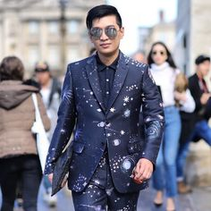 @bryanboycom in a @maisonvalentino #cosmosuit  [ http://ift.tt/1f8LY65 ]