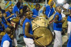 Carvanal Santiago de Cuba - dancers and music down the streets