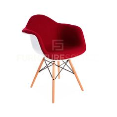 Eames Style Molded Shell DAW Eiffel Dowel Leg Upholstered Dining Arm ChairEames Ghost Style ACRYLIC Stacking DSS Mid Century Modern Dining  . Eames Dsw Dsr Dss Faux Leather Seat Pad. Home Design Ideas
