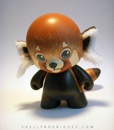 Red Panda Mini Munny - Hello! | Flickr - Photo Sharing!