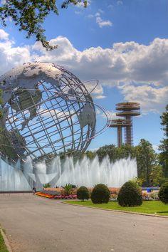 Unisphere at Corona Park, Flushing, Queens, New York