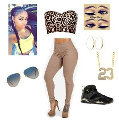 """""""sexy for bae"""" by flawlesssqueen ❤ liked on Polyvore featuring River Island, Lana, Retrò and Ray-Ban"""