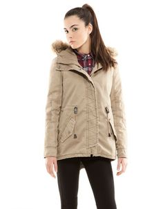 Bershka Turkey - BSK detachable lining parka